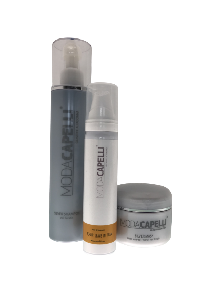 MODA CAPELLI #Cool Blond & protect - Set